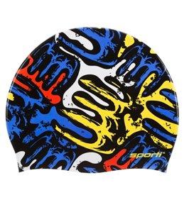 ea21d83df82 Sporti Mondrian Silicone Swim Cap