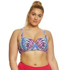 Raisins Curve Plus Size Stolen Heart Lush Bikini Top