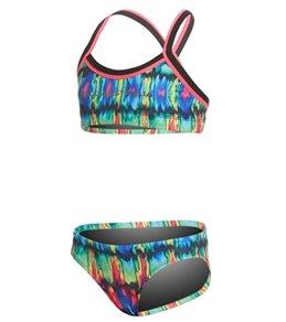 Slix Australia Girls' Miami Heat Two Piece Bikini Set