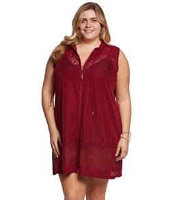 Dotti Plus Size Gypsy Dance Hoodie Tunic