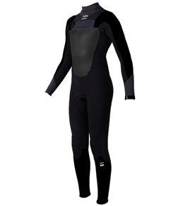 Billabong Boys' 4/3mm Absolute Back Zip Full Suit Wetsuit