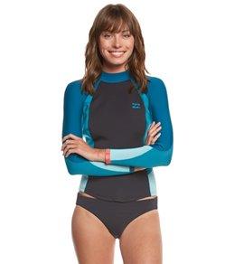 Billabong Women's 2mm Synergy Back Zip Long Sleeve Wetsuit Jacket