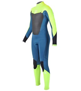 Billabong Boys' 3/2mm Absolute Back Zip Full Suit Wetsuit