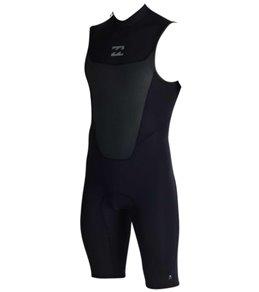 Billabong Men's 2mm Absolute Back Zip Sleeveless Springsuit Wetsuit