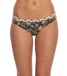 Gossip Paisley Field Low Rise Hipster Bikini Bottom