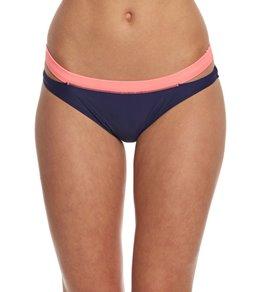 Gossip Color Block Low Rise Hipster Bikini Bottom