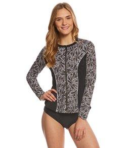Fit4U Twisted L/S Swim Shirt
