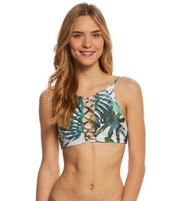 Stone Fox Swim Monster Fruit Iver Halter Bikini Top
