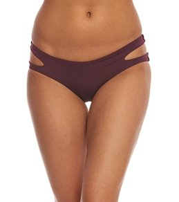 Aerin Rose Sangria Luxe Bikini Bottom