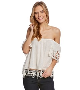 Roxy Second Wave Off The Shoulder Top