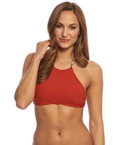 2843856cb5e53 Red Carter Friendship Bracelet High Neck Bikini Top