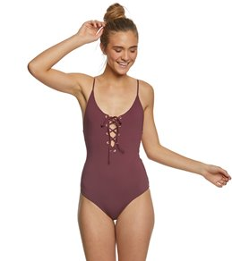 Tavik Solid Monahan One Piece Swimsuit