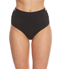 B.Swim Midnight Lani Hi-Waist Bikini Bottom