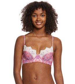 Betsey Johnson Princess Charming Underwire Bump Me Up Bikini Top