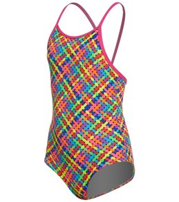 Funkita Toddler Girls' Basket Case One Piece Swimsuit