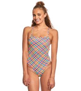 Funkita Women's Basket Case Strapped In One Piece Swimsuit