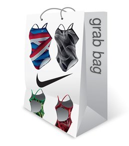 Nike Women's Poly and Poly Blend Swimsuit Grab Bag