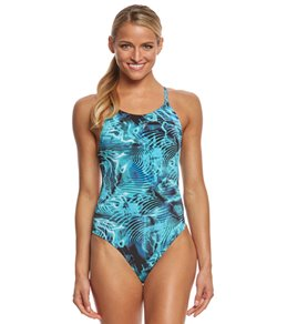 fabiola molina Women's Under The Sea One Piece Swimsuit