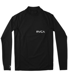 RVCA Men's Solid RG Long Sleeve Rashguard
