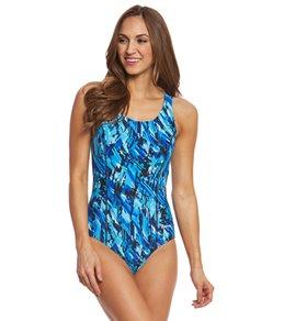 Waterpro Women's Marina Fit-Back Moderate One Piece Swimsuit