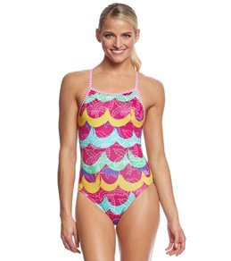 Dolfin Uglies Women's Tropicana V-2 Back One Piece Swimsuit