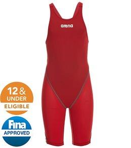 Arena Girls' Powerskin ST 2.0 Open Back Tech Suit Swimsuit