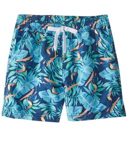 Tiger Joe Boy's Retro Explorer Toucan Swim Trunk (2-8)