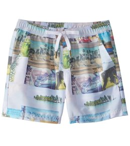 Tiger Joe Boy's Retro Explorer Swim Trunk (2-8)