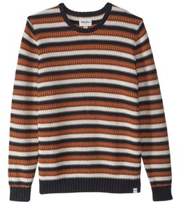 Rhythm Men's Casanlanca Knit Crew Neck Sweater