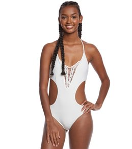 Spiritual Gangster Solid Maui Breathe One Piece Swimsuit