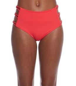 Spiritual Gangster Solid Maui Mantra Bikini Bottom