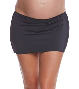 Prego Swimwear Maternity Solid Swim Skirt