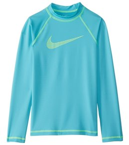 Nike Girls' Long Sleeve Hydro Rashguard
