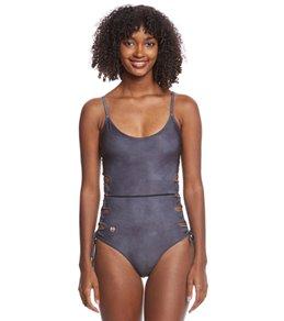 Maaji Swimwear Suede Nightfall Reversible One Piece Swimsuit