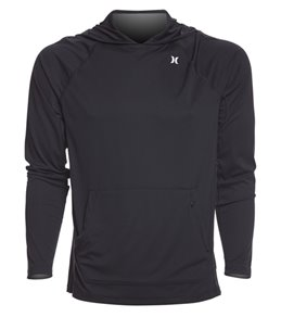 Hurley Men's Wet/Dry Icon Hooded Long Sleeve Surf Shirt