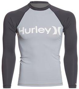 Hurley Men's One & Only Long Sleeve Rashguard