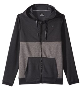 Hurley Men's Dri-Fit Disperse Blocked Zip Fleece Hoodie