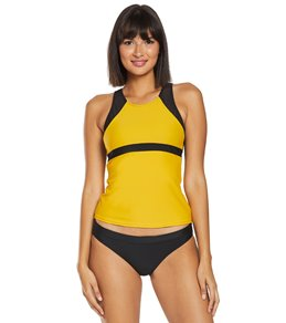1ff05bacebac9 Sporti Active High Neck Tankini Top
