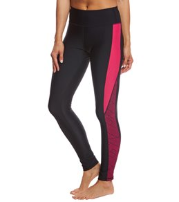 Sporti Active Chevron Color Block Swim Legging