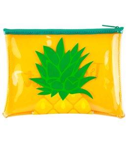 SunnyLife Pineapple See Thru Beach Pouch Bag
