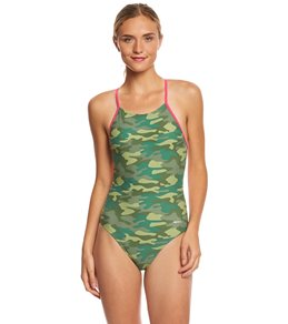 Sporti Camouflage Micro Back One Piece Swimsuit
