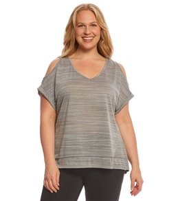 Balance Collection Plus Cold Shoulder Dolman Tee