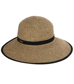 Sun N Sand Women's Backless Paperbraid 4 Beach Brim Hat