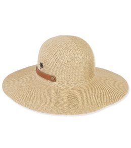 Sun N Sand Women's Paperbraid Snap and Go Beach Hat