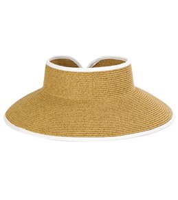 Sun N Sand Women's Paperbraid Roll up Visor
