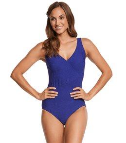 Gottex Essence Surplice One Piece Swimsuit