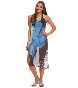 Rappi Brush Stroke Tank Dress