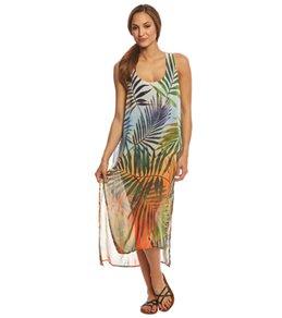 Rappi Sunset Palms Vivid Tank Dress