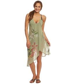 Rappi Retro Hawaiian Wrap Dress