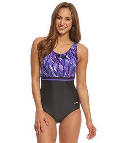 Waterpro Women's Marina Splice U-Back One Piece Swimsuit